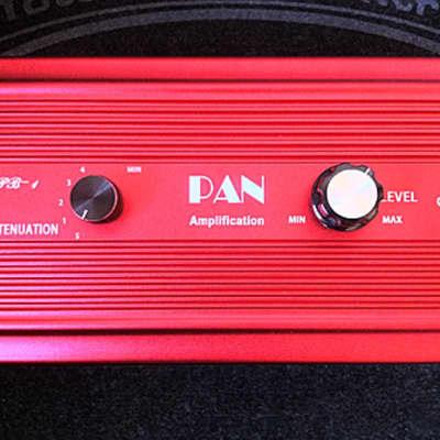 KLD PAN AMPS PB1/AT100-P 100 WATT ATTENUATOR  SAVE YOUR CRANKED TUBE TONE RED BURST Case Color