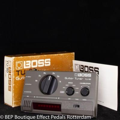 Boss TU-60 Tuner 1980 made in Japan