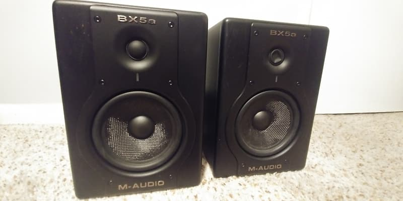 m audio bx5a monitors black dean 39 s stuff reverb. Black Bedroom Furniture Sets. Home Design Ideas