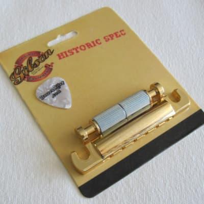 Gibson Historic Spec Lightweight Aluminum Tailpiece GOLD PTTP-080