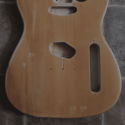 Saga T-Style Project Guitar Body & Neck for sale