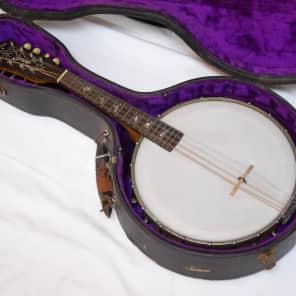 ORPHEUM No1 8-string Mandolin Banjo w/ CASE - VINTAGE - OLD for sale