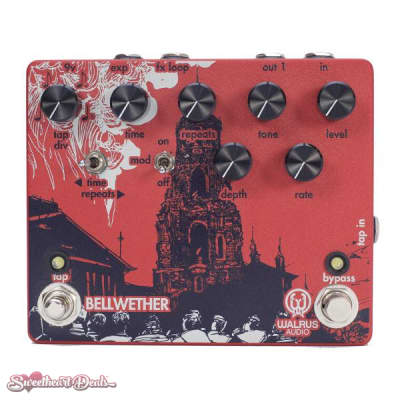 Walrus Audio Bellwether Analog Delay with Tap Tempo Guitar Echo Effect Pedal