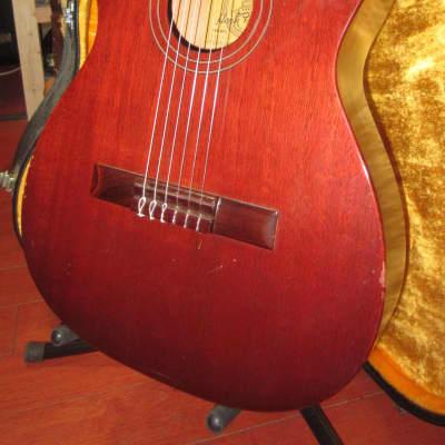 Vintage Circa 1964 Favilla C-5 Overture Classical Nylon String Made in NYC w/ Original Case for sale