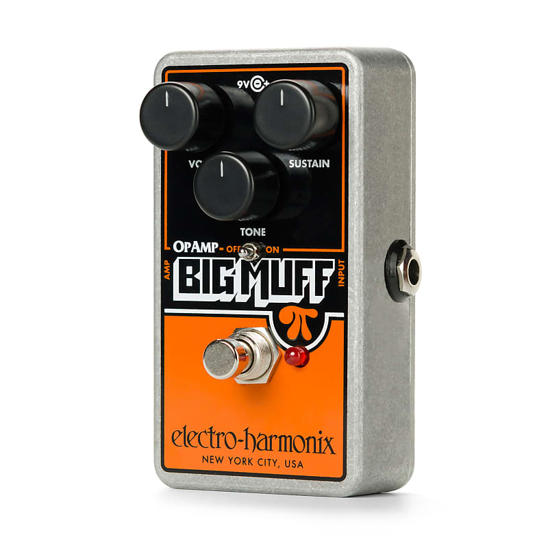 ehx op amp big muff pi billy corgan fuzz electric guitar reverb. Black Bedroom Furniture Sets. Home Design Ideas