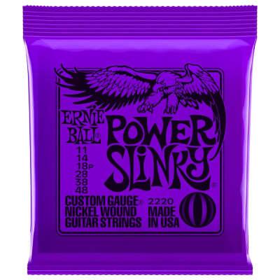 Ernie Ball Nickel Slinky Electric Guitar Strings - 11-48
