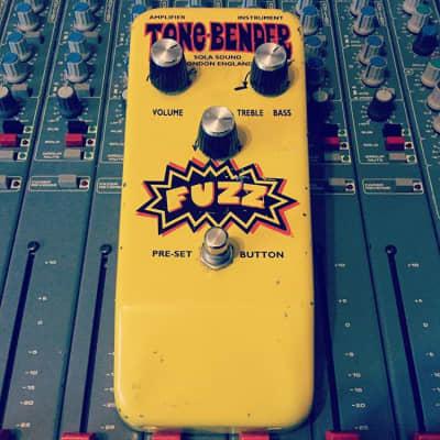 Sola Sound tonebender Yellow fuzz 2000's Ex Gary Moore for sale