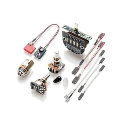 EMG Master Volume, Master Tone with 3 POS Tele Switch Wiring Kit