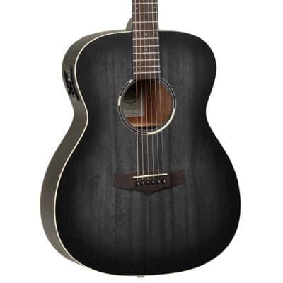 Tanglewood Blackbird TWBB-OE Orchestra Electro Acoustic (Smokestack Black Satin) for sale