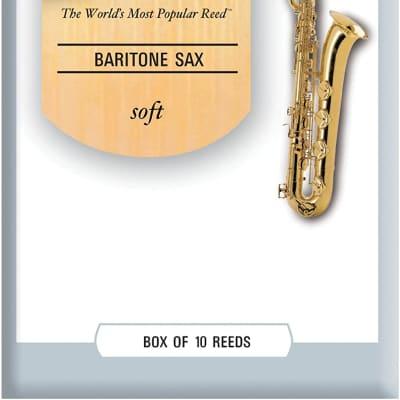 Rico RLC10SF La Voz Baritone Saxophone Reeds - Strength Soft (10-Pack)