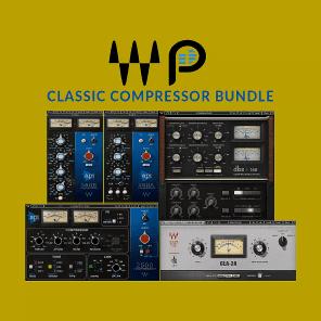Waves + pureMix Classic Compressor Bundle - Vocals, Drums, Mix, & Learning