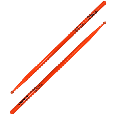 Zildjian ZASRB Ronald Bruner Jr Signature Orange (Pair) Drum Sticks