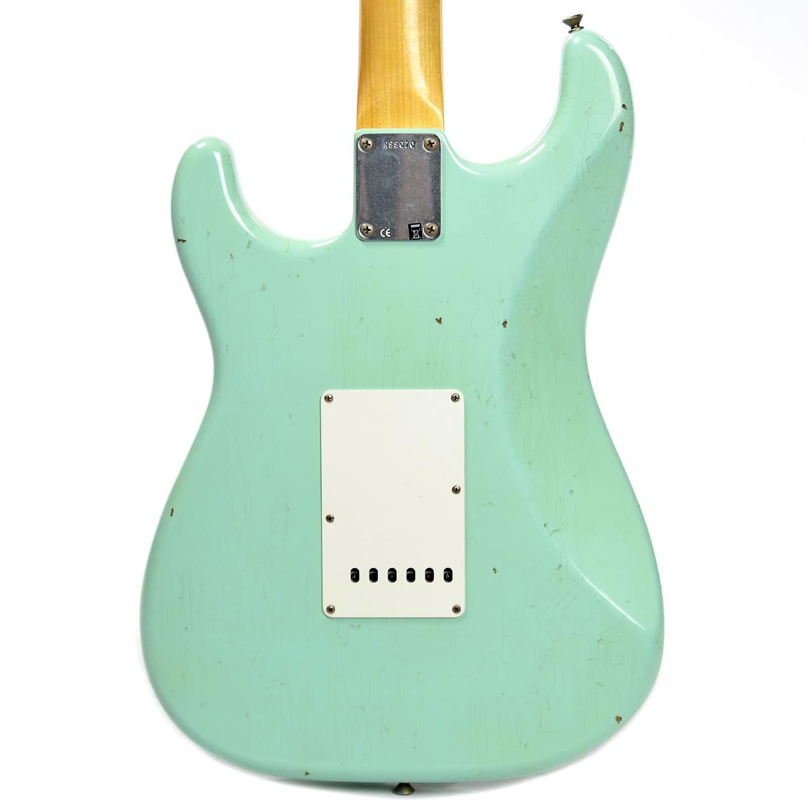 Fender Custom Shop 1960 Stratocaster Journeyman Relic RW Aged Surf ...