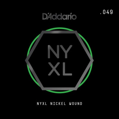 D'Addario Nickel Wound .049 String