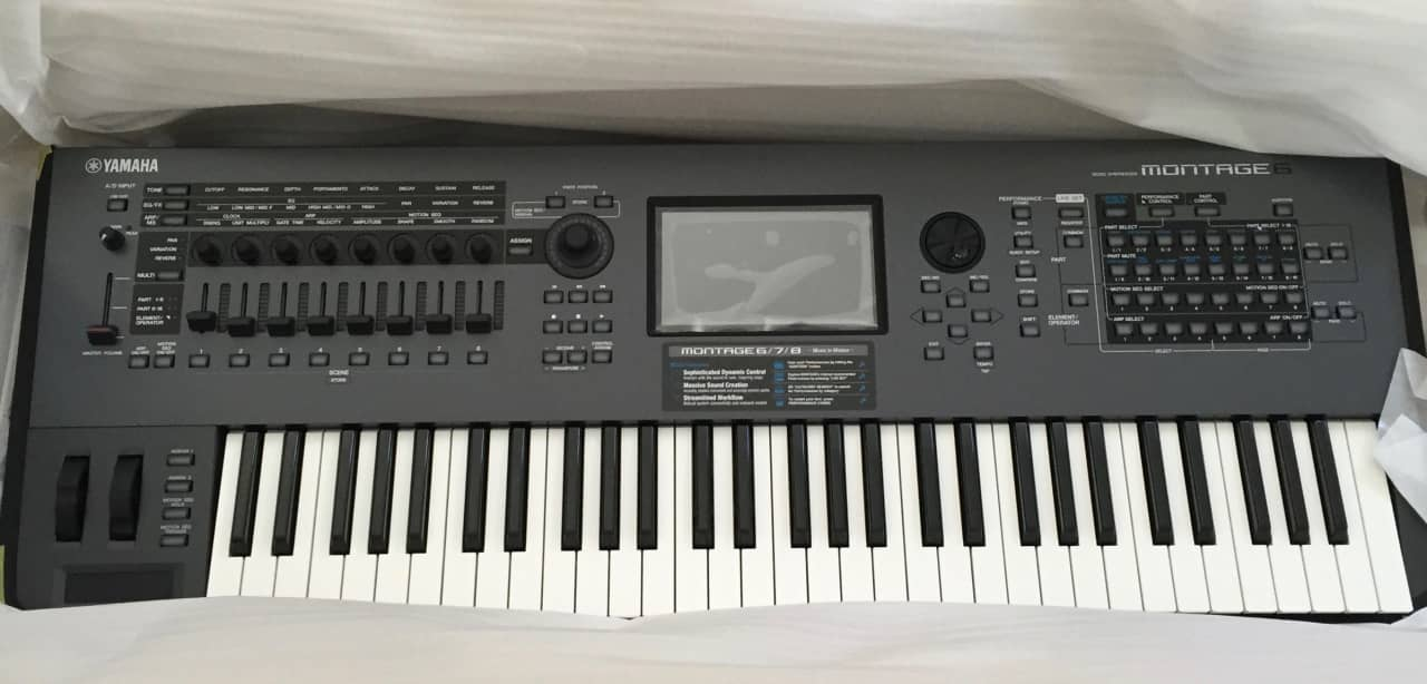 yamaha montage 6 mint fc7 fc5 pedals bosendorfer piano. Black Bedroom Furniture Sets. Home Design Ideas