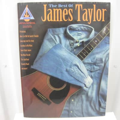 James Taylor The Best of Sheet Music Song Book Songbook Guitar Tab Tablature