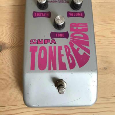 Colorsound Supa ToneBender  1970 Grey/pink