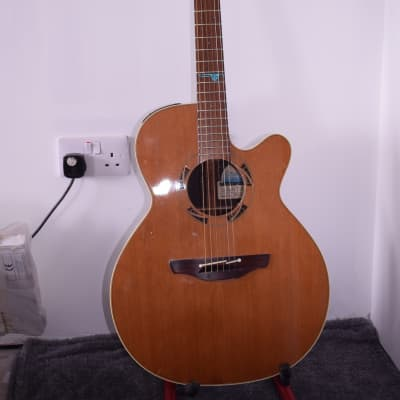 Takamine PSF45C Legacy Series Santa Fe NEX Cutaway Acoustic/Electric Guitar 1990's Natural Gloss for sale