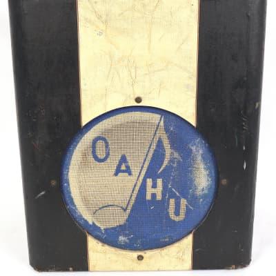 Vintage 1950s Oahu 230K Lap Steel Two-Tone Electric Guitar Tube Amplifier Amp Lapsteel for sale
