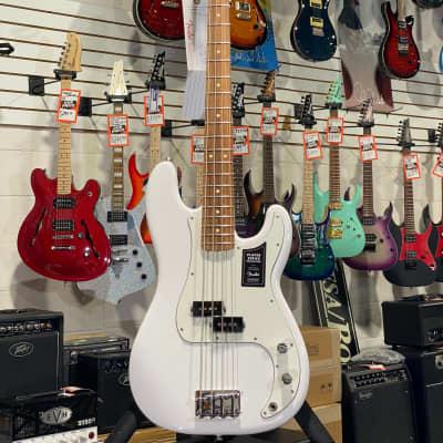 Fender Player Series Precision Bass Polar White Pau Ferro Fretboard w/ Free Shipping