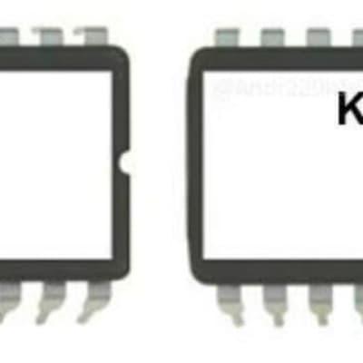 Kurzweil K2000 K2000R K2000RS EPROMs V3.87C. Brand New. Firmware OS Update Calvin Upgrade