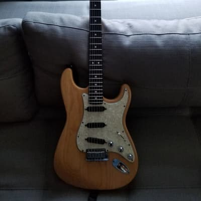Fender Strat Plus Deluxe 1989 Natural for sale