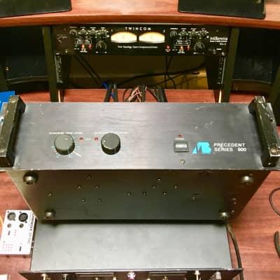 A/B systems Precedent series 900 stereo studio power amplifier original vintage audiophile image