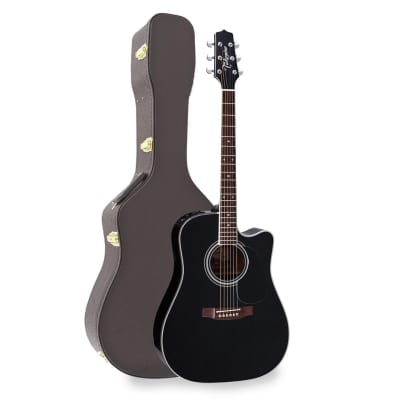 Takamine EF341SC Acoustic Electric Guitar With Case for sale