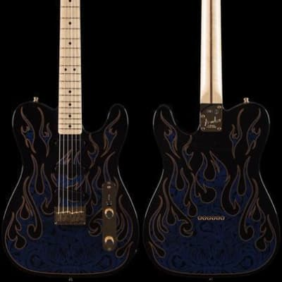 Fender James Burton Telecaster® Blue Paisley Flames (253)