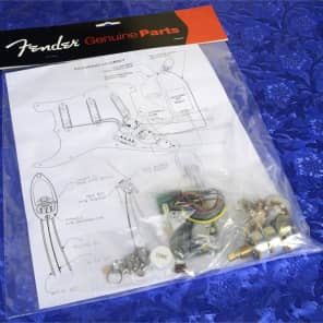 genuine fender eric clapton strat pre-amp mid boost kit 25db, 0057577000 new