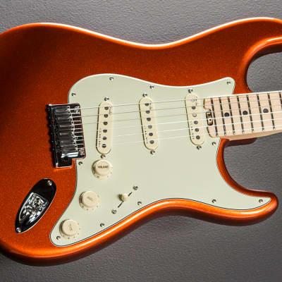 Fender American Elite Stratocaster - Autumn Blaze Metallic w/Maple image