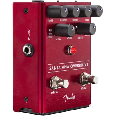 Fender Santa Ana Overdrive Effect Pedal for sale