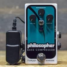 Pigtronix Philosopher Bass Compressor Analog Optical Compressor Effect Pedal