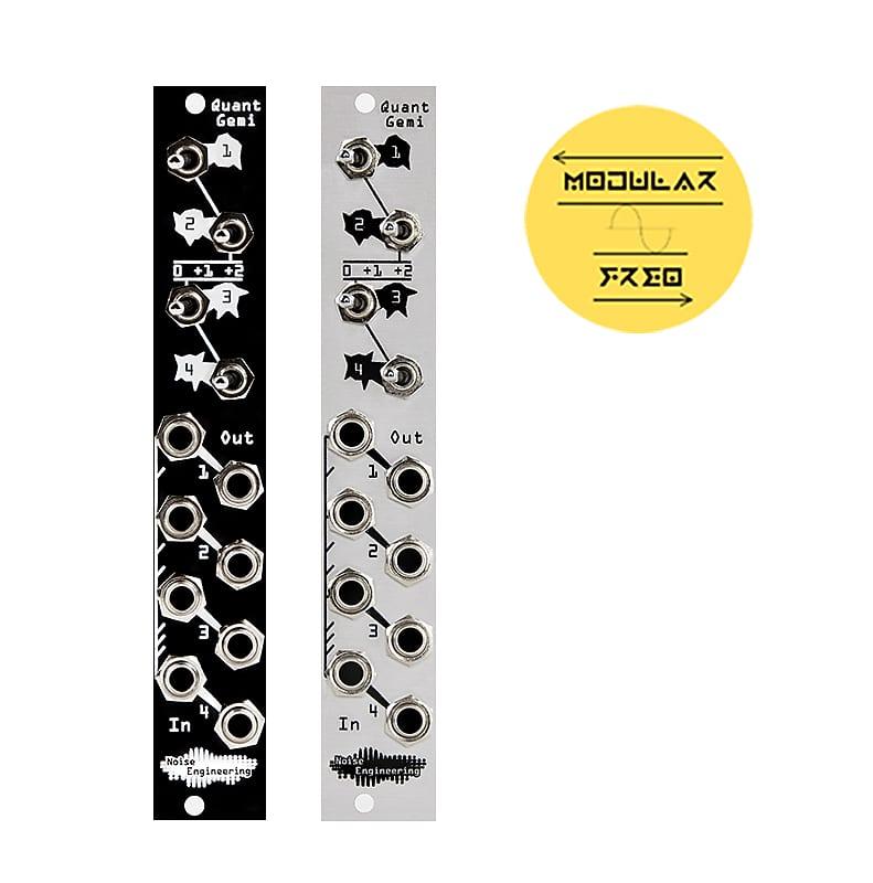 Noise Engineering Quant Gemi Black / Silver   MODULARFREQ