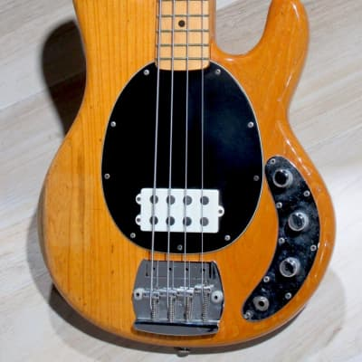 Music Man Stingray Bass  1976 Natural Ash finish for sale