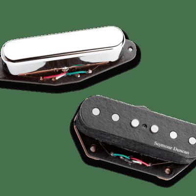 Seymour Duncan 11208-09 Vintage Stack Tele Pickup Set 2017 Black-Chrome