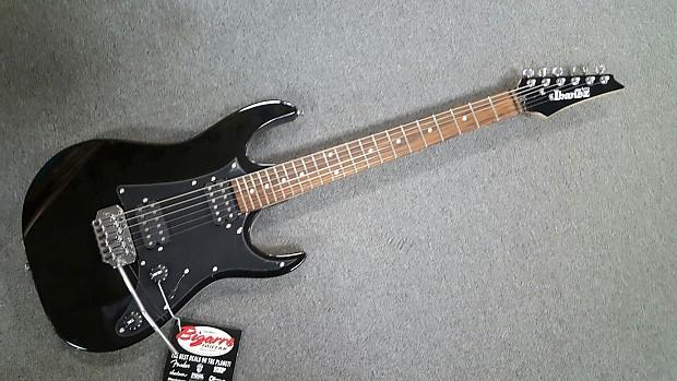 Ibanez Gio GRG20Z Electric Guitar Black   Reverb