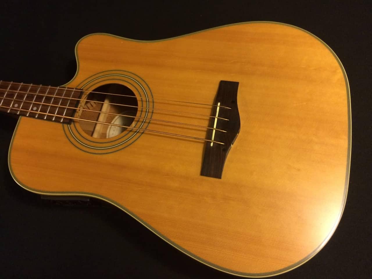 fender bg29 acoustic bass guitar reverb