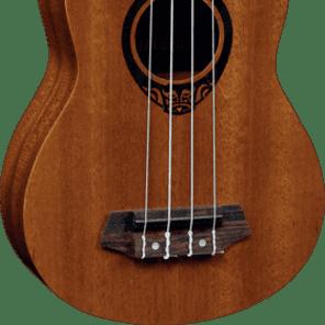 Lâg TKU-10S Tiki Uku - Soprano Ukulele for sale