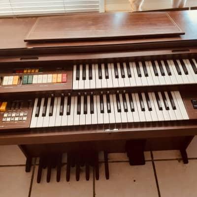 Elka Model 18 Combo Organ 1973 Brown