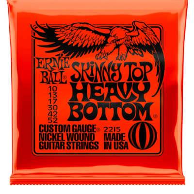 Ernie Ball Guitar Strings Skinny Top Heavy Bottom 10-52 Nickel Wound Electric 2215