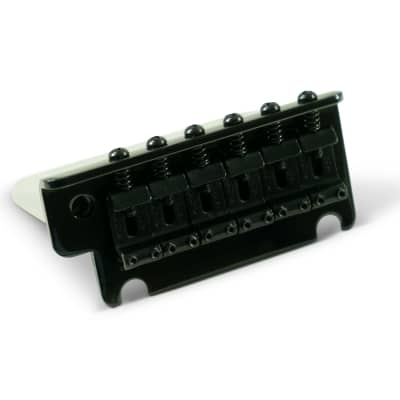 Kluson 2 Post Steel Block Tremolo Bridge Black