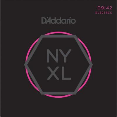 D'Addario NYXL 09-42 Super Light Electric Strings