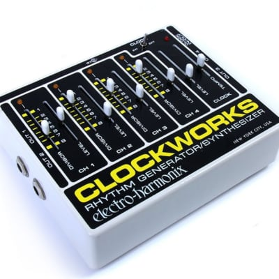 Electro Harmonix Clockworks Rhythm Generator/Synthesizer for sale