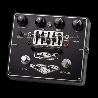 MESA/Boogie Throttle Box EQ Overdrive Pedal - Throttle Box EQ Overdrive Pedal for sale