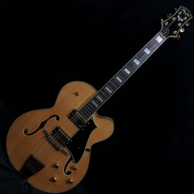 Peerless Journeyman Blonde Archtop Electric Guitar #3008639 for sale