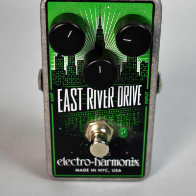Electro Harmonix East River Drive Electric Guitar Overdrive Effects Pedal