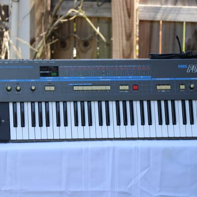 Mint 1980's Analog Korg Poly-61 - HD Photos + YouTube Video of Listed Item