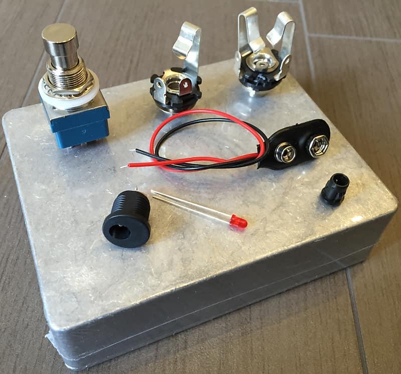 6 x Jack Chassis socket closed mono stereo femmina chiuso pedal clone DIY
