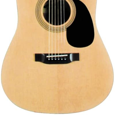Lauren LA125N Dreadnought Agathist Top 6-String Acoustic Guitar
